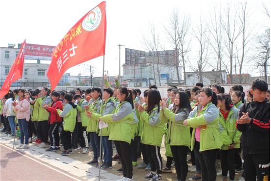 泉阳中心校举办春季运动会