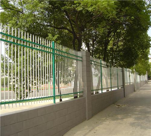 从江公园锌钢围栏网种类蛮多
